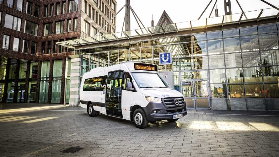 Minibus Mercedes-Benz. I nuovi Sprinter Transfer 45 e City 45