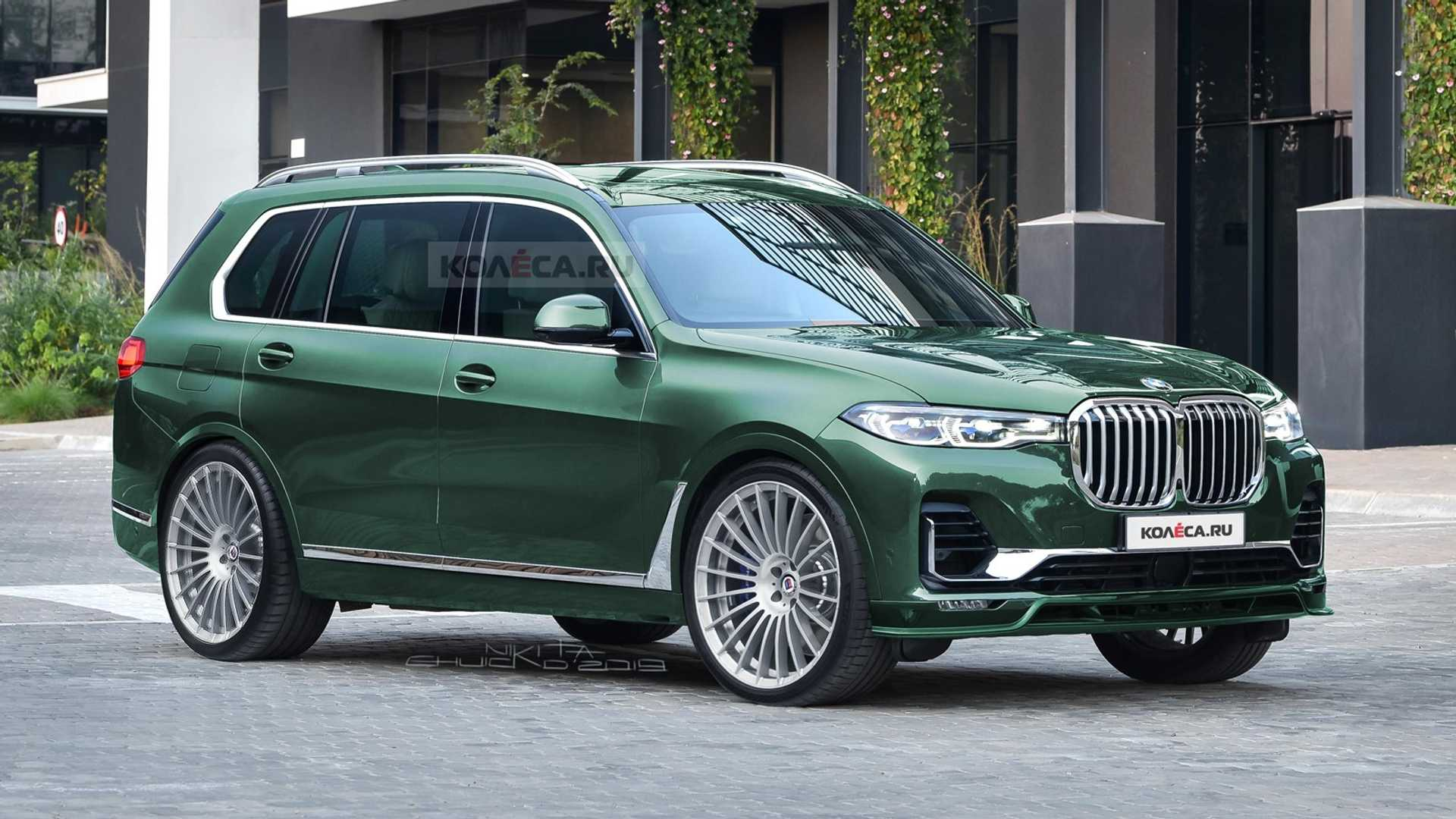 Alpina Bmw X7 Rendering Previews The Brawny Suv