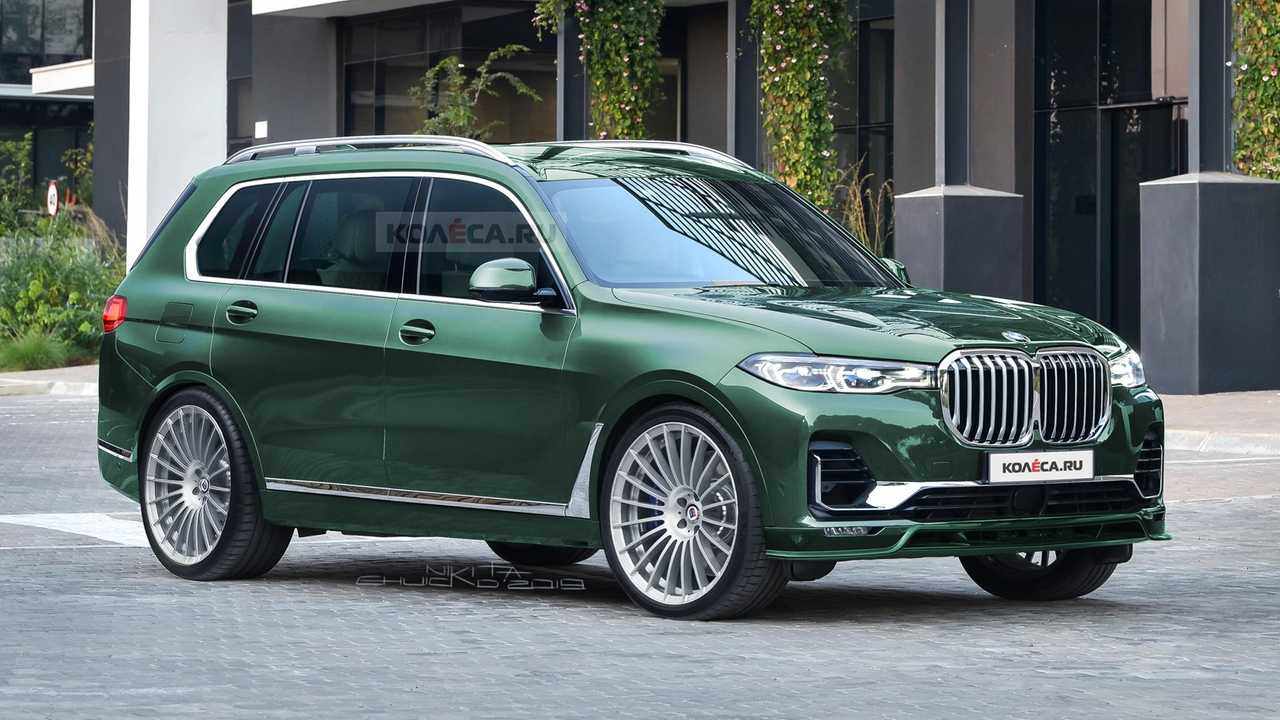 Alpina BMW X7 rendering