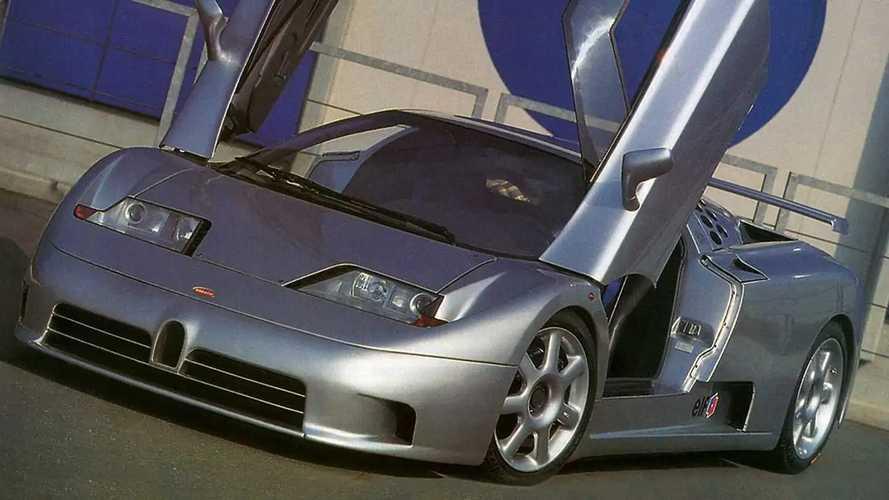 Bugatti EB110 Super Sport 1992