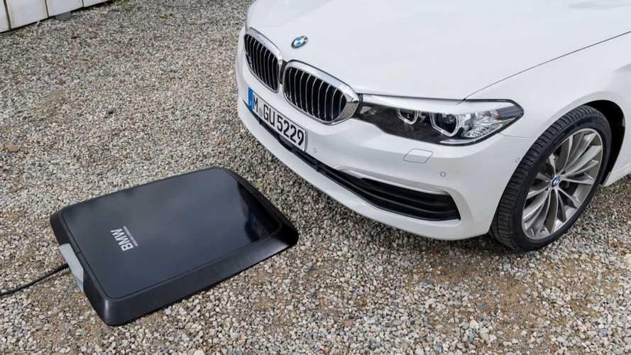 Carregador por indução para carros da BMW ganha prêmio de tecnologia