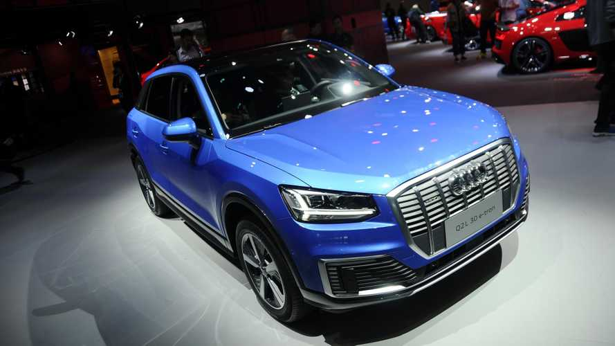 Audi Q2 L e-tron Debuts At The Shanghai Auto Show