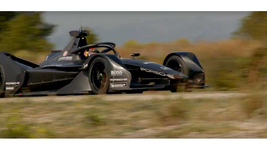 Porsche Hits The Track In New Formula E Car: Video