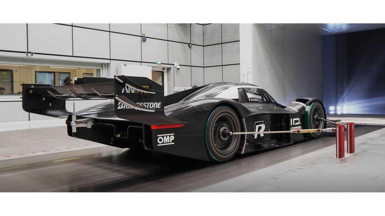 Volkswagen ID R добавляет DRS для электрической попытки Nurburgring Record