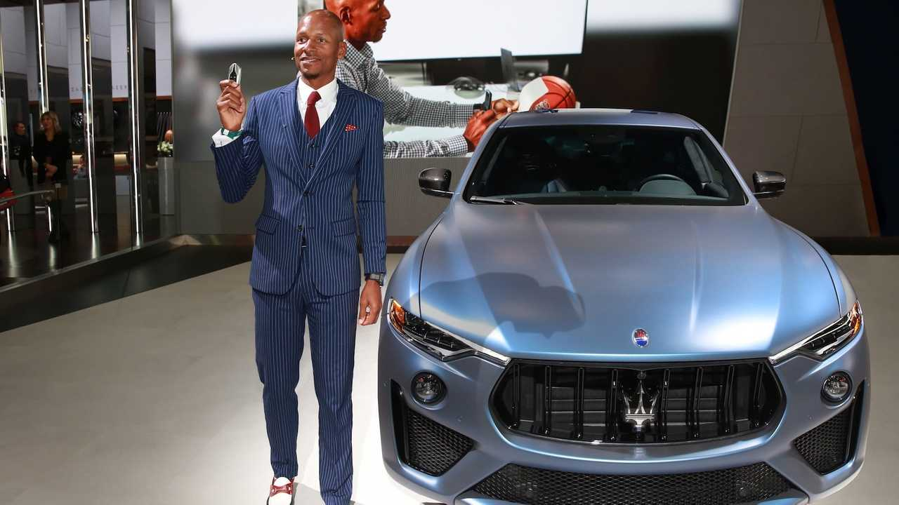 Ex Nba Superstar Ray Allen Gets One Off Maserati Levante