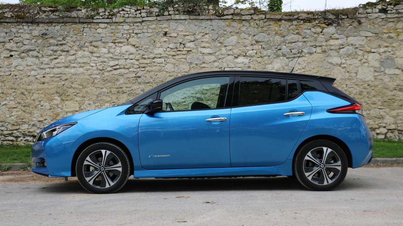 Nissan Leaf e + trial