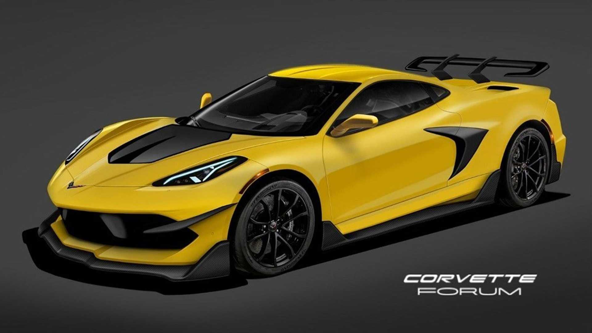 Chevrolet Corvette C8 ZR1 Rendering | Motor1.com Photos