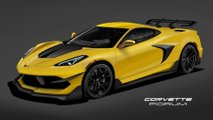 Chevrolet Corvette C8 ZR1 Rendering