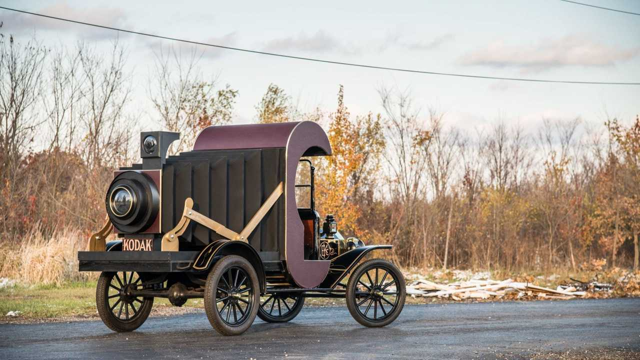 Clever 1914 Ford Model T Modified To Look Like A Kodak Camera