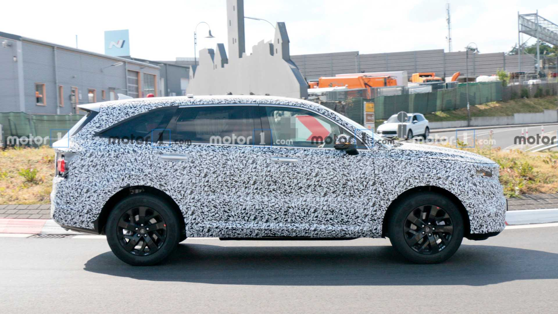 2021 - [Kia] Sorento IV Kia-sorento-spy-photo