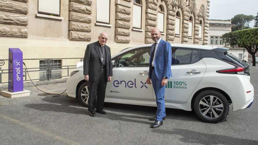 Enel X sbarca in Vaticano con le colonnine di ricarica