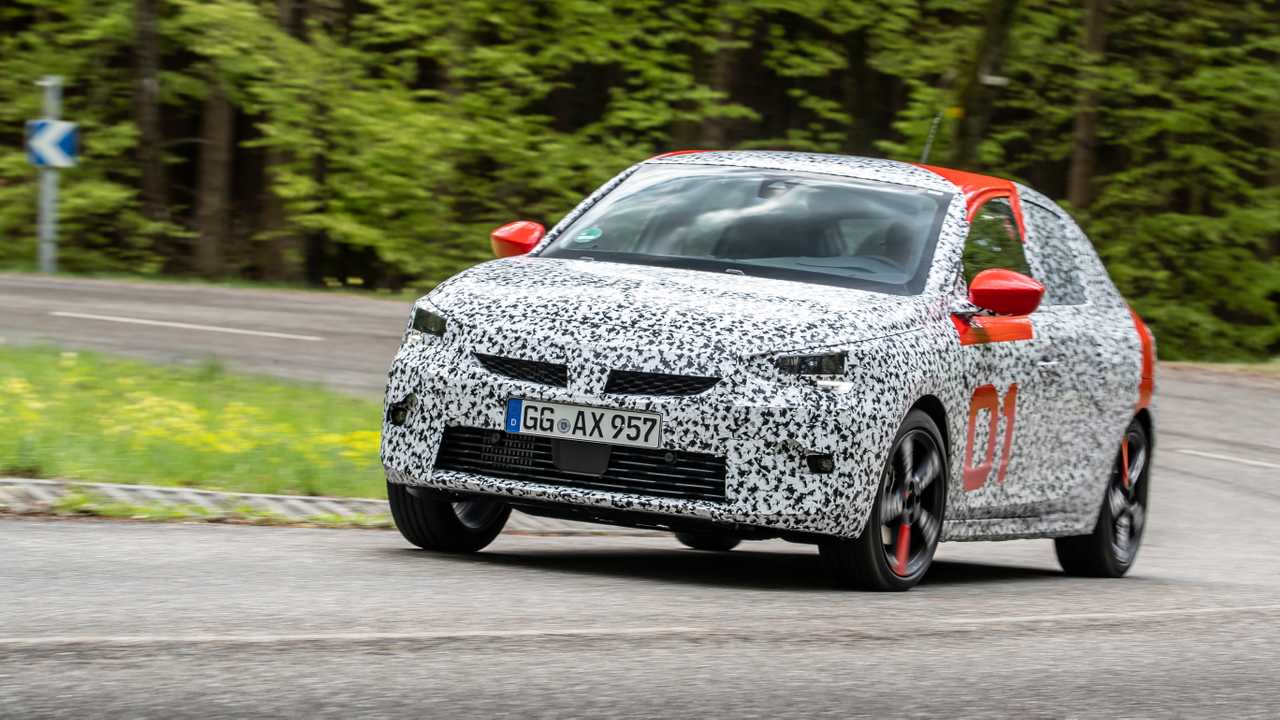 2020 opel corsa spied during final testing new specs released