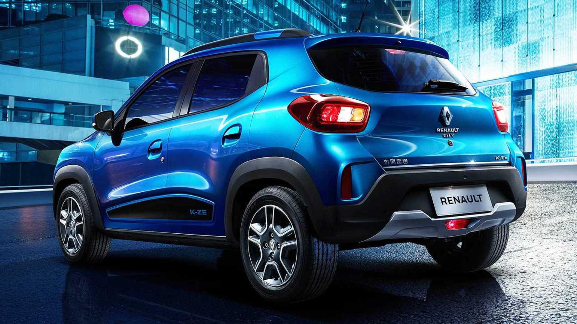 Renault представила бюджетный электрохэтч City K-ZE