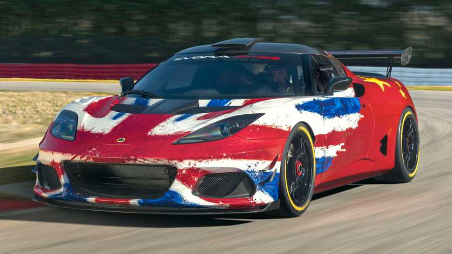 Lotus reveals new Evora GT4 Concept race car in Shanghai