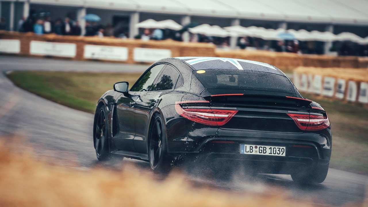 Porsche Taycan Mitfahrt