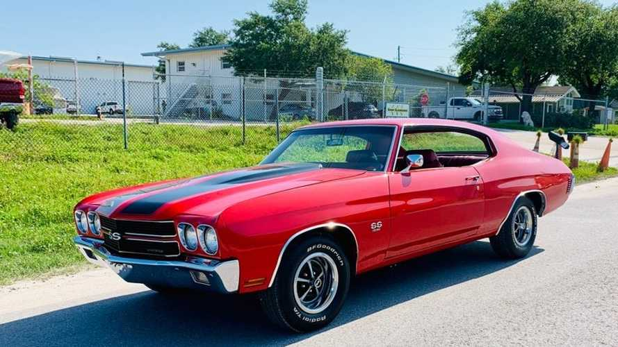 1970 Chevrolet Chevelle SS In Cranberry Red Is Droolworthy