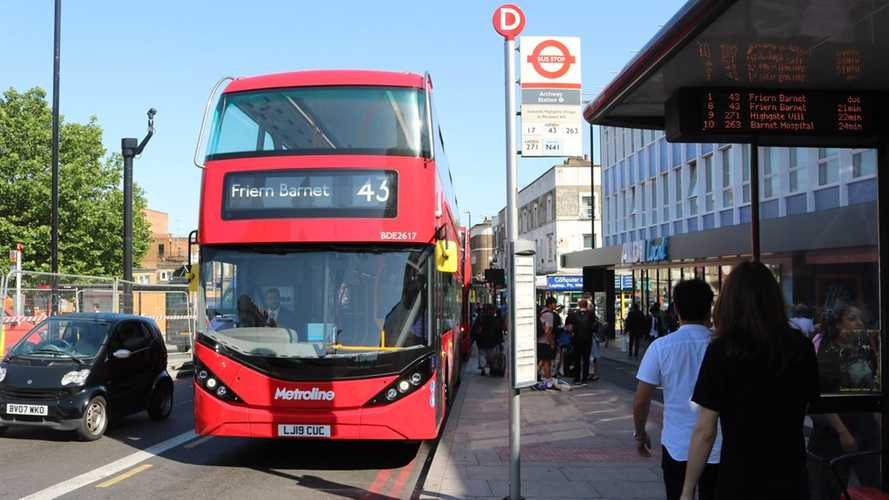 BYD ADL Enviro400EV Double Deckers Entered Service In London
