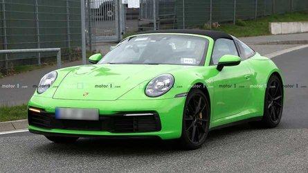 Yeni Porsche 911 Targa objektiflere takıldı