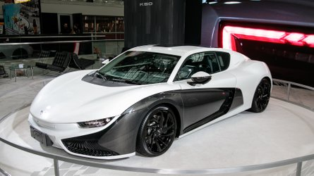 China's Qiantu K50 Electric Supercar Confirmed For New York Debut