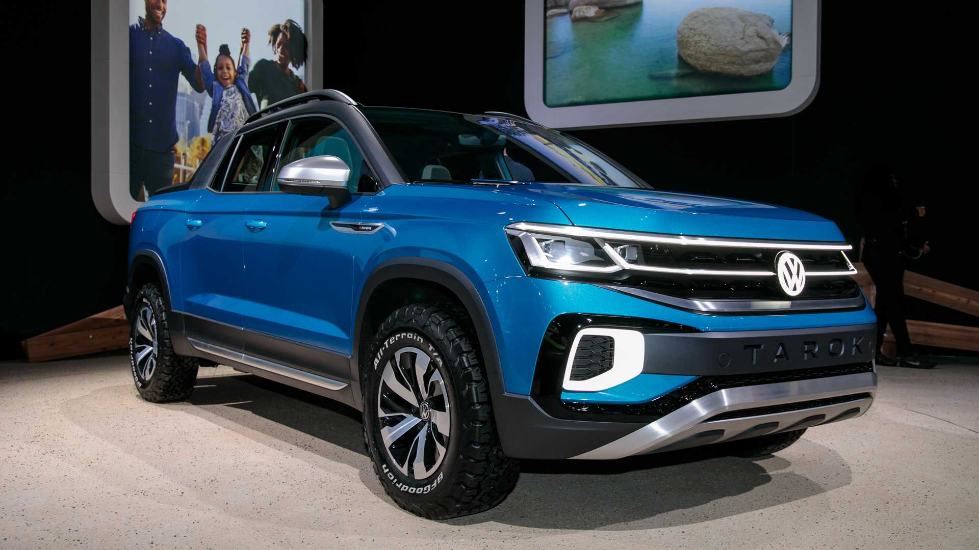 2020 Volkswagen Tarok Price, Redesign, Review, And Specs >> Vw Tarok Concept Revealed As Pickup With Transforming Bed