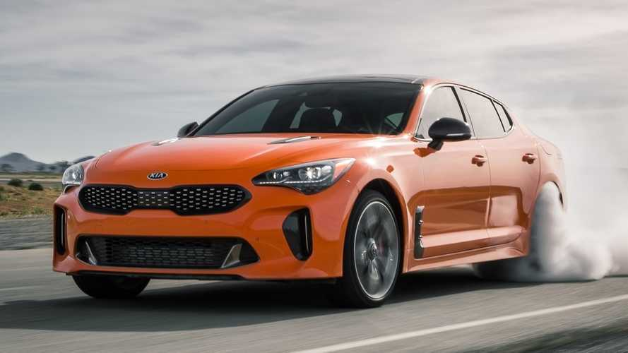 2019 Kia Stinger GTS is a drift machine for the New York scene