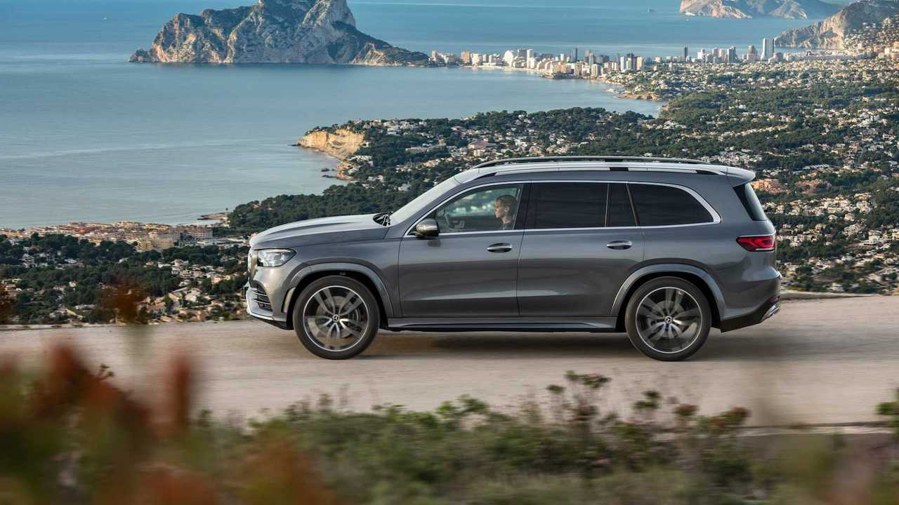 Mercedes GLS, neue Version (5,21 Meter)