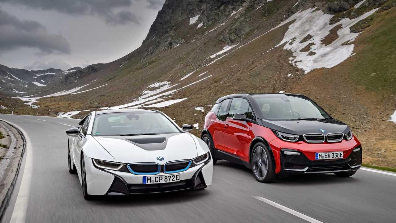 BMW i3 et i8