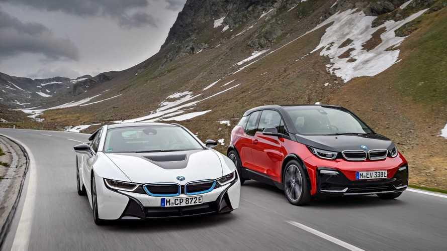 Les BMW i3 et i8 ne seront pas renouvelées