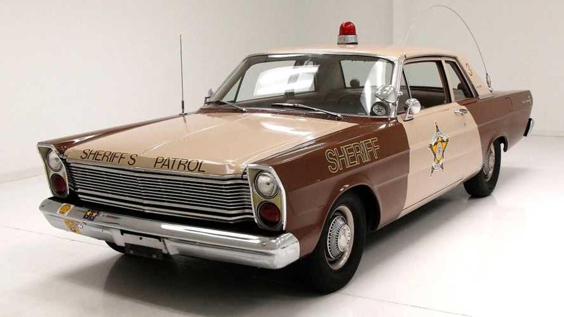 "[""'60s Fuzz: 1965 Ford Custom 500 Police Car""]"