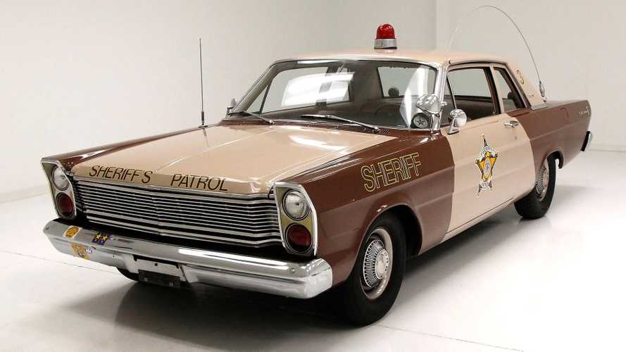 '60s Fuzz: 1965 Ford Custom 500 Police Car