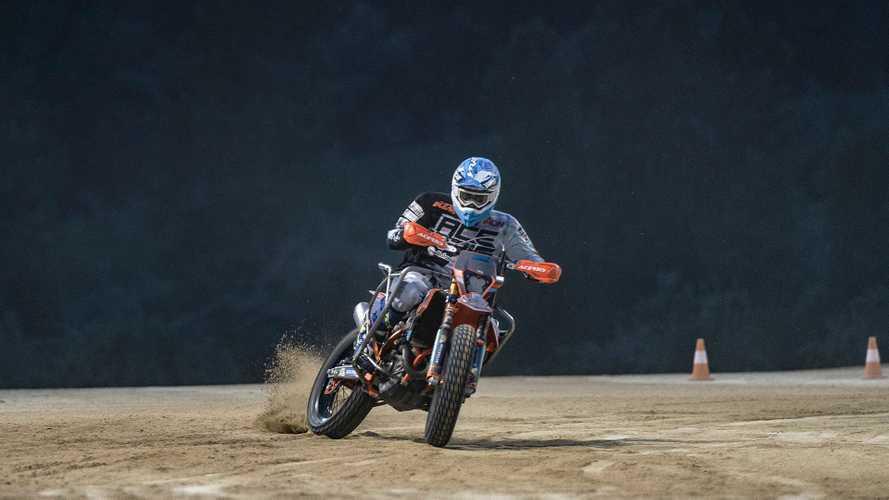Nicola Dutto sfida Valentino Rossi al Ranch