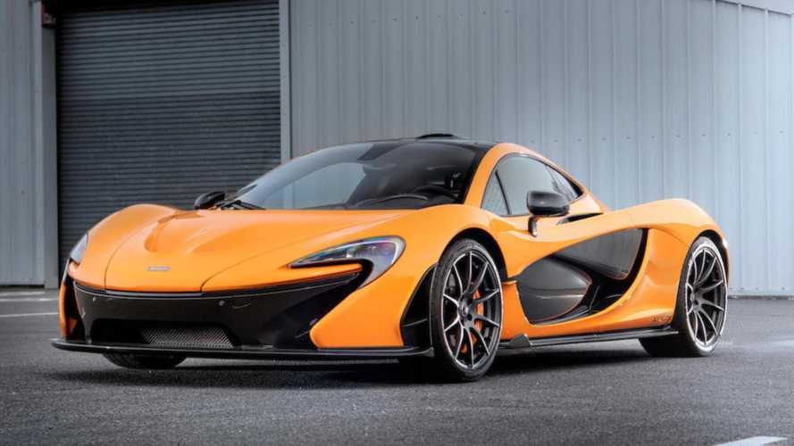 Prototype McLaren P1 Hyper Car To Be Auctioned