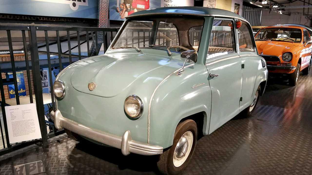 Kleinwagen-Ausstellung in Einbeck: Goggomobil