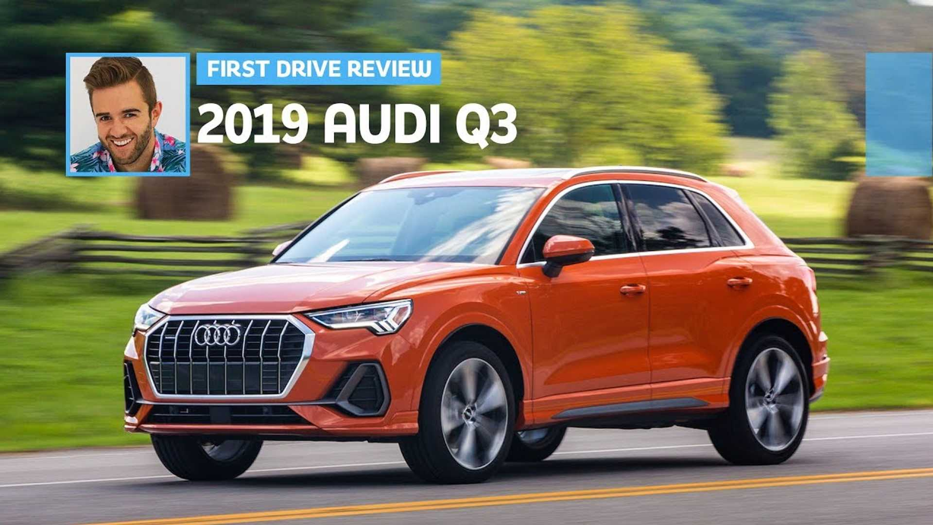2019 Audi Q3 Video First Drive Review: Orangetacular