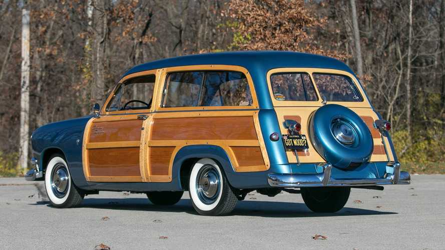 Redefine Family Road Trips In This 1951 Ford Country Squire Woody