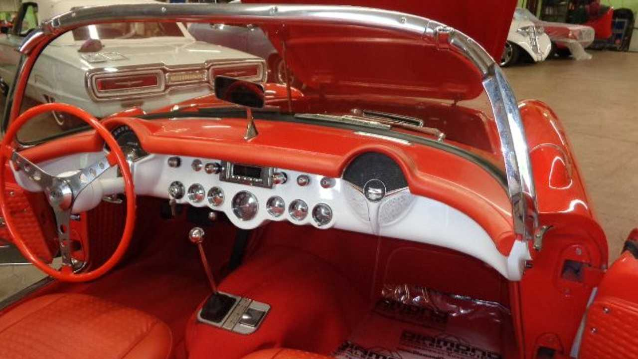 Little Red Corvette: 1956 Chevrolet Corvette