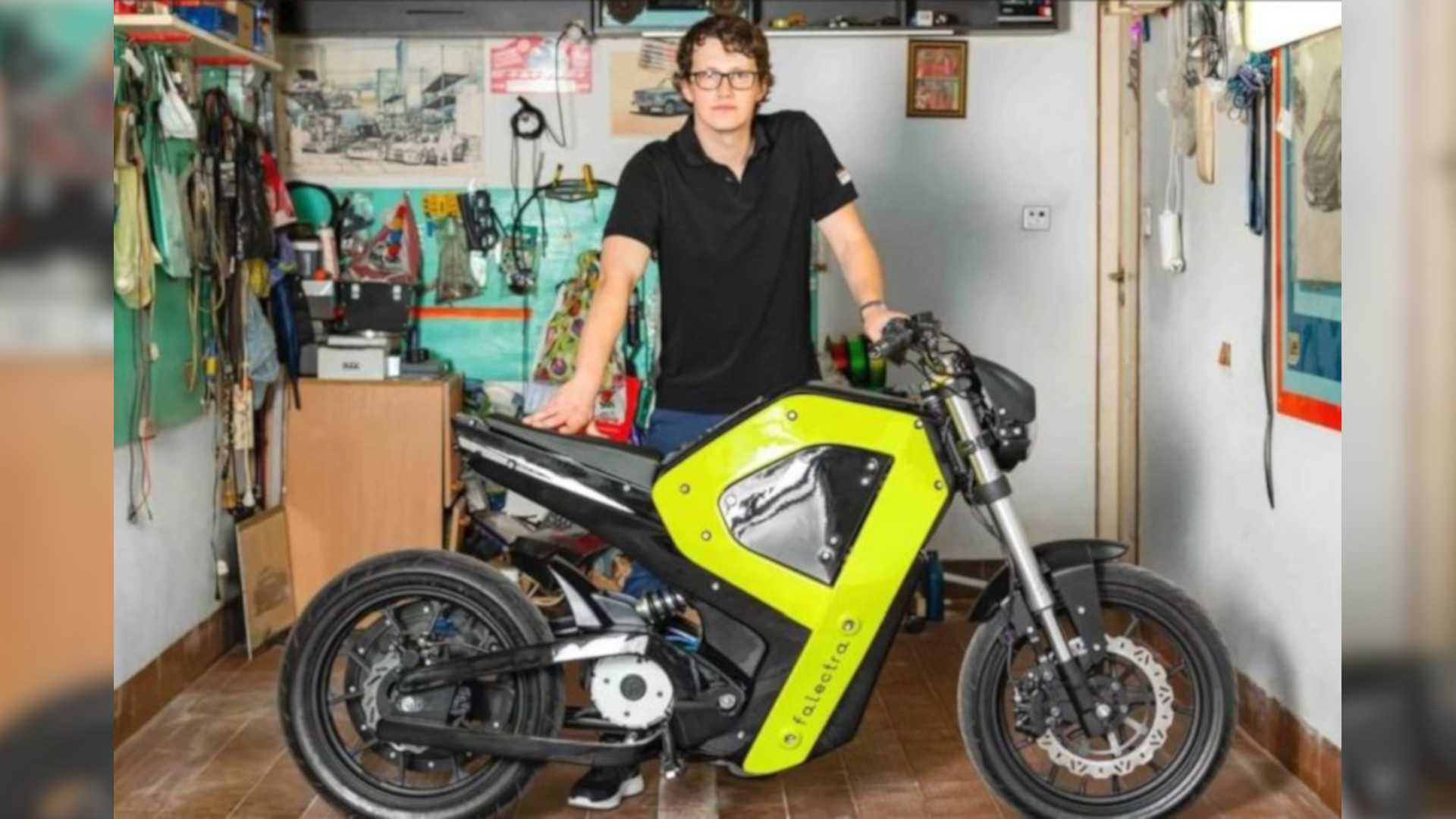 This Man 3D-Printed A Functional Electric Bike Prototype