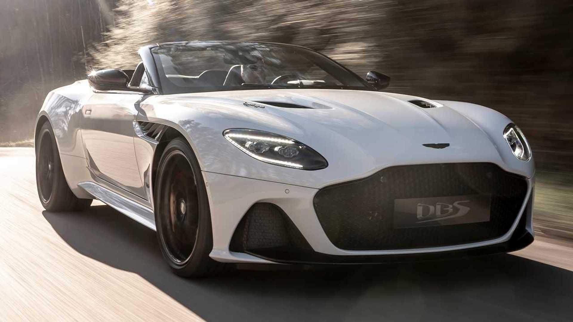 Aston Martin Dbs Superleggera Volante Debuts As V12 Droptop