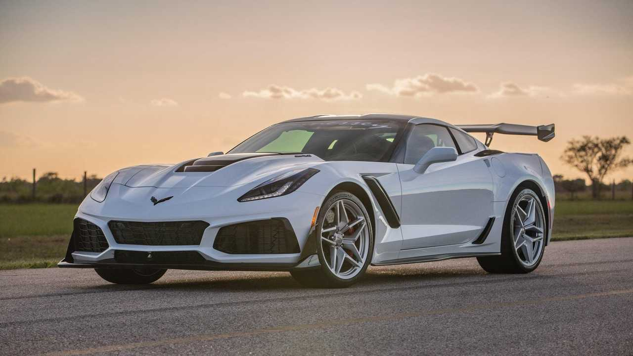 Behold The 1,200-Horsepower Chevy Corvette ZR1 From Hennessey