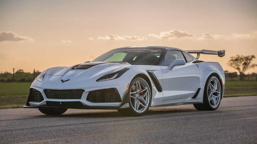Behold the 1,200-bhp Chevy Corvette ZR1 from Hennessey