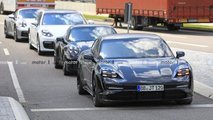 Porsche Taycan Latest Spy Photos