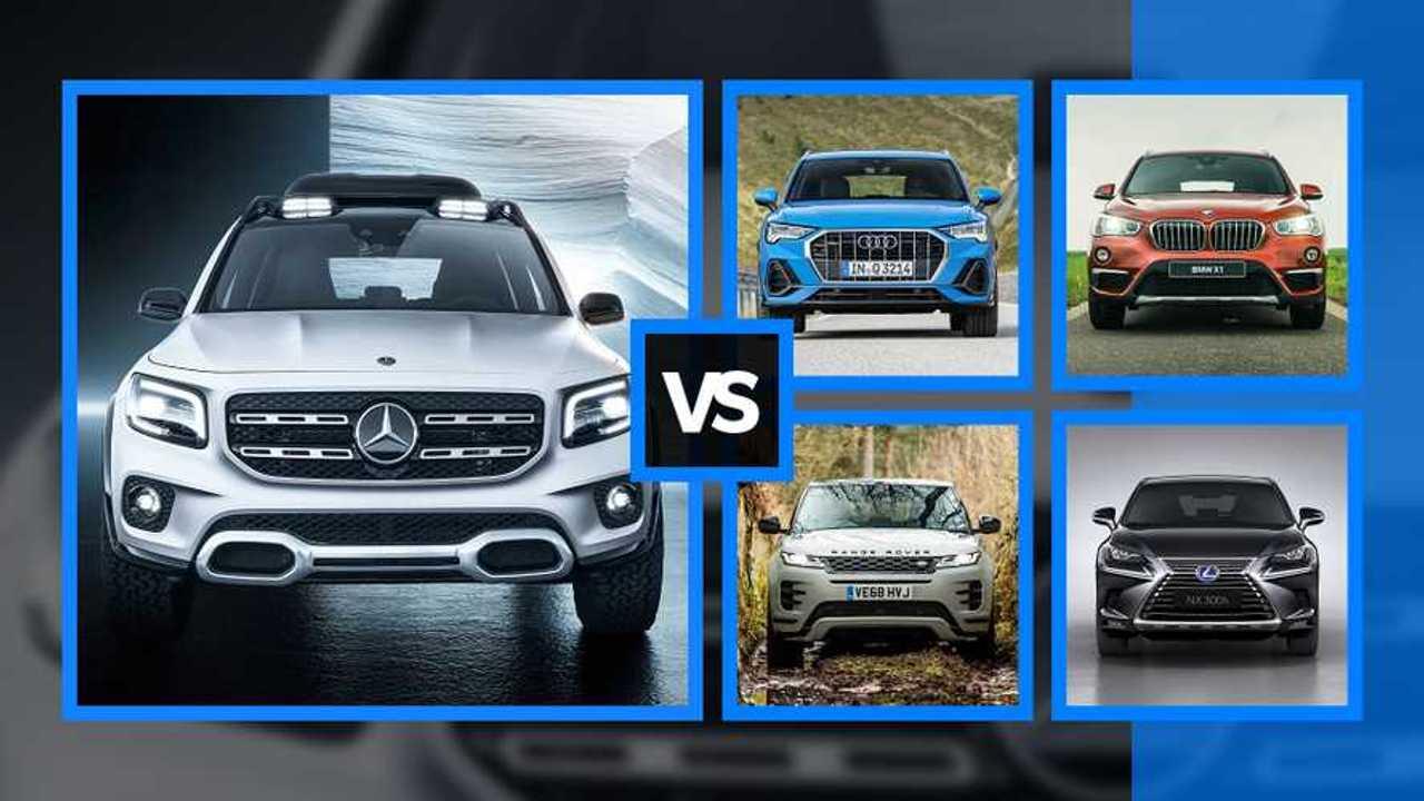 Mercedes GLB vs