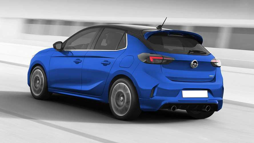 Opel Corsa OPC illustrations