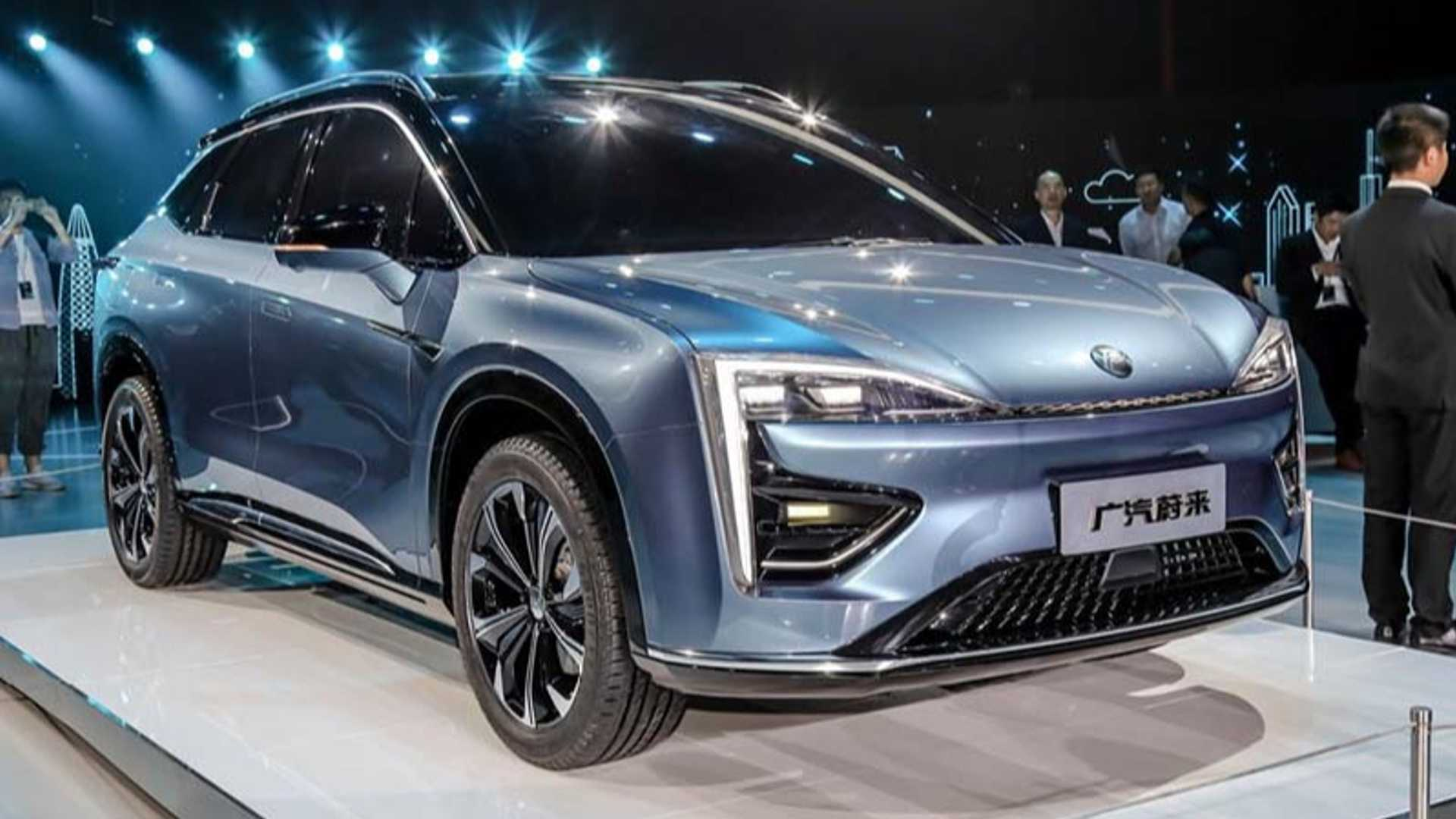 GAC-NIO Introduces Hycan Brand And Concept Electric SUV
