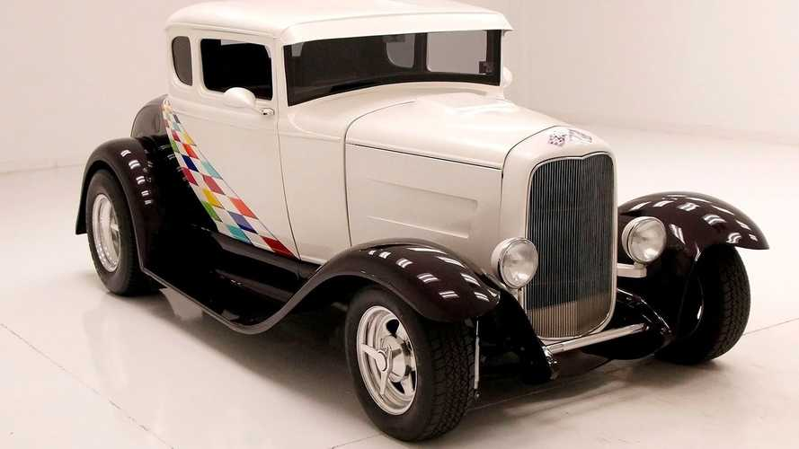 Immaculate 1931 Ford Model A Coupe Boasts Stunning Paint Job