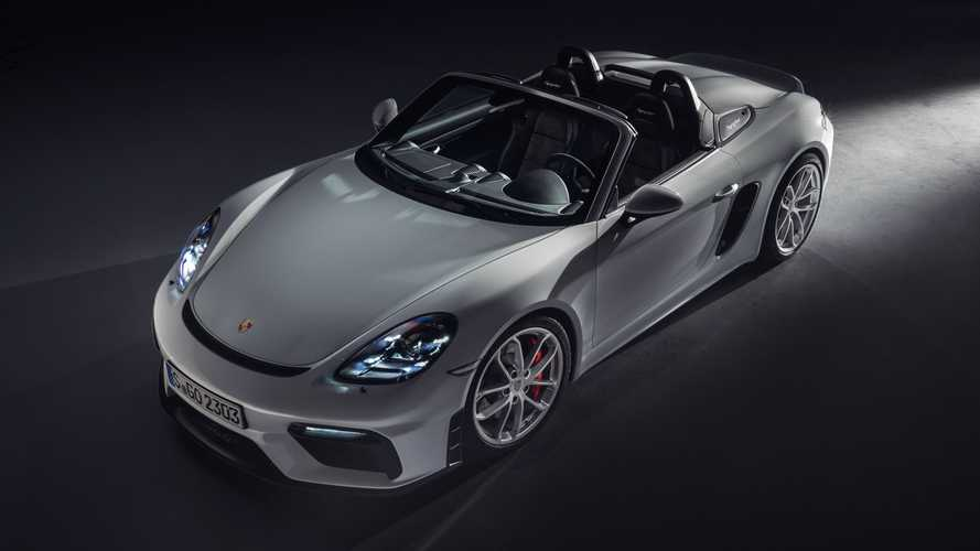 Porsche 718 Cayman GT4 and 718 Boxster Spyder revealed