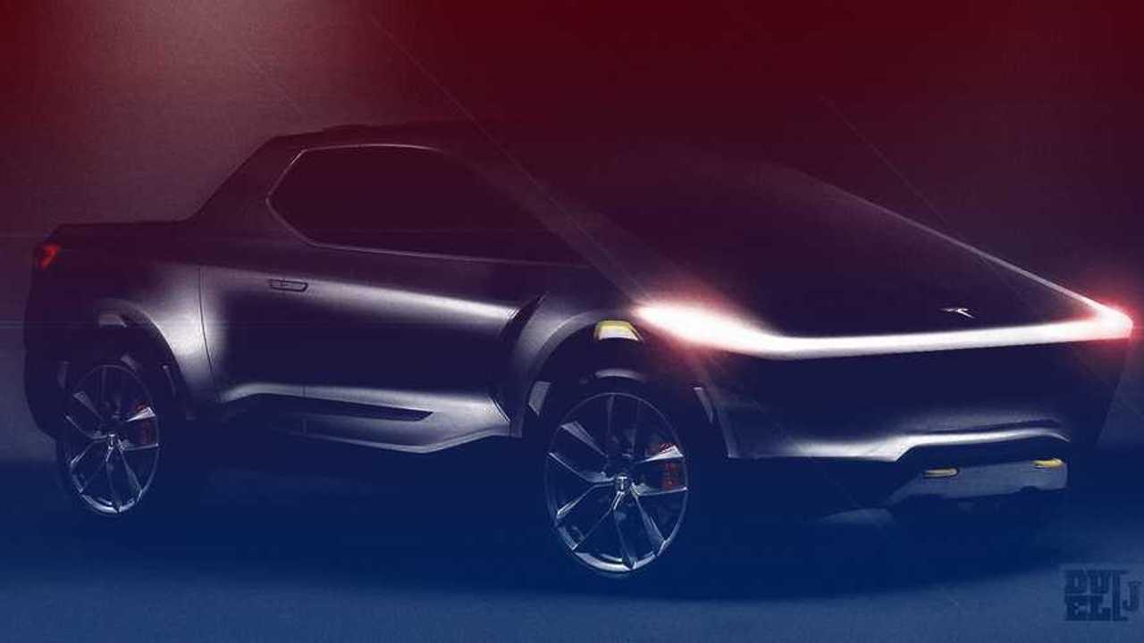 Tesla Pick-up (illustration)