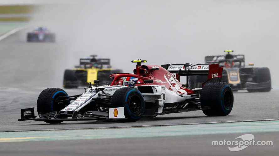 Alfa Romeos penalised, Hamilton and Kubica in the points