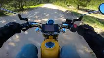 off road honda monkey video