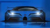 Bugatti EB110 Tribute Rendering
